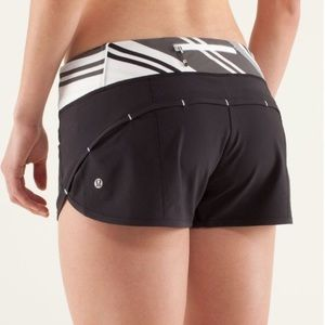 LULULEMON | speed shorts